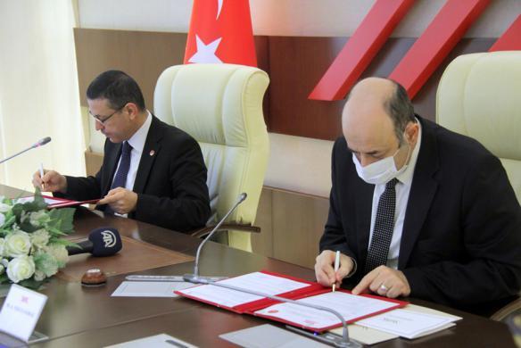 YK ve Saytay Arasnda Eitim  Birlii Protokol mzaland